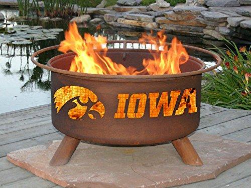 Patina F241 University of Iowa Fire Pit