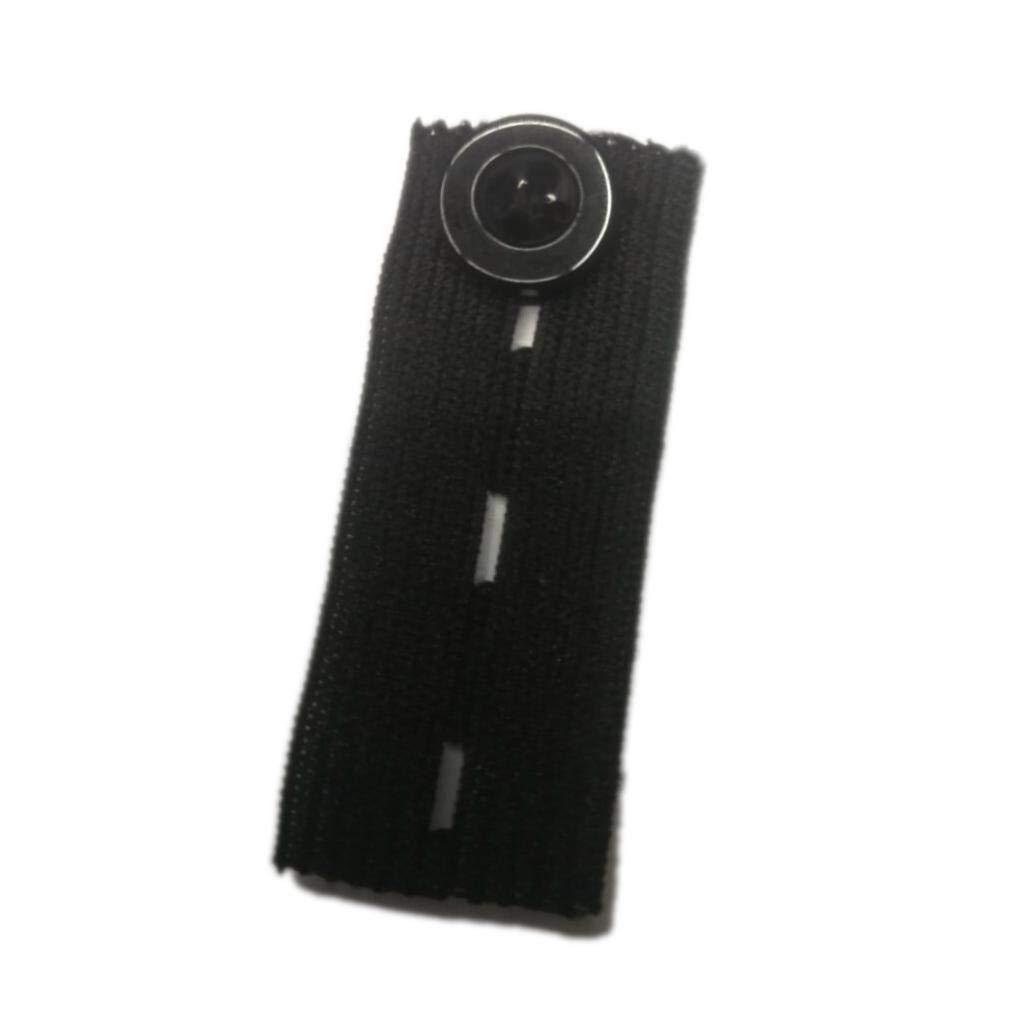 FidgetKute MagiDeal 10Pcs Elastic Pants Waist Extender Adjustable Pant Button Extenders