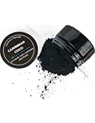 Premium Activated Coconut Carbon Charcoal - Teeth Whitening Toothpaste Powder- by Caribbean Coco