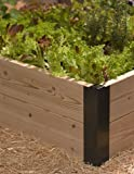 Raised Bed Corner, 8 Inch Set of 2 Aluminum