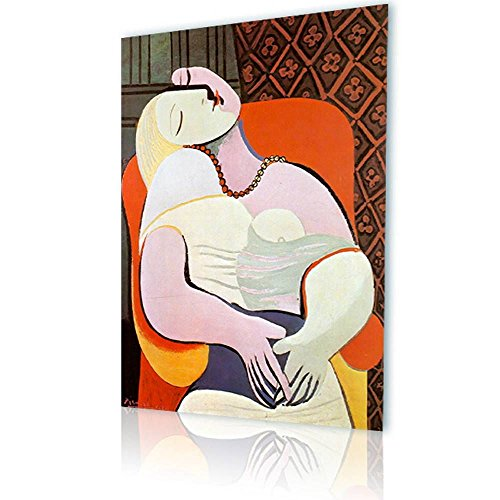 Dreams Giclee Print (Alonline Art - The Dream Pablo Picasso PRINT On CANVAS (Synthetic, UNFRAMED Unmounted) 20