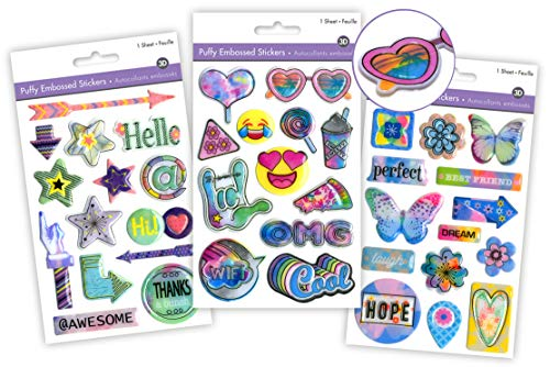 Friends Stickers for Kids Photo Album Scrapbook Kit for Girls Friends Girly Gifts Young Teen Girl Gifts Kids Scrapbook Accessories Scrapbook for Girls Scrapbook for Kids Best Friend Scrapbook (3 Pk)