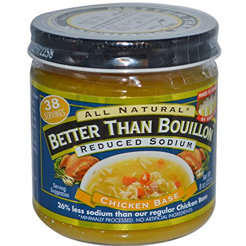 Better Than Bouillon, Chicken Base, Reduced Sodium, 8 oz (227 g)(Pack of 3) -