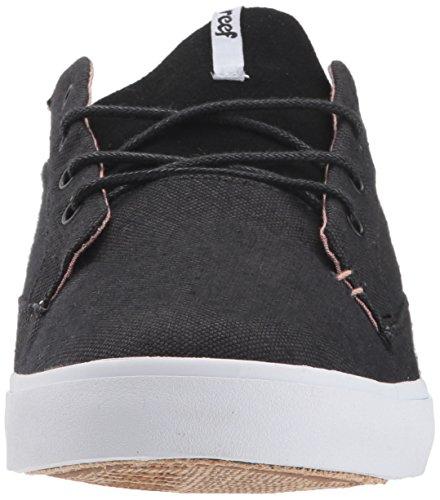 Reef Womens Iris Sneaker Noir / Blanc