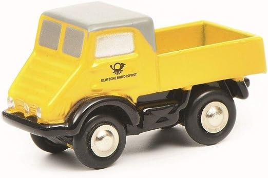 Schuco 450527600 Gelb 450527600 Piccolo Mb Unimog 401 Dp Modellauto Modellfahrzeug Spielzeug