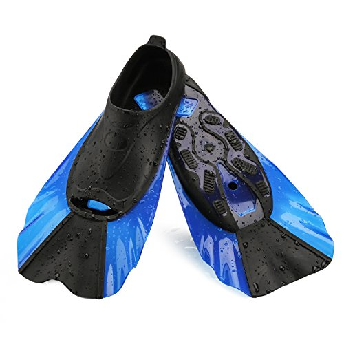 WADEO Flippers for Swimming Kids Training Fins for Swim Snorkeling Bodyboarding - XS