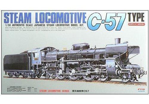 1 50 C57 Normal (Plastic model) Micro Ace(Arii) 1 50 Steam Locomotive [Toy] (japan import)