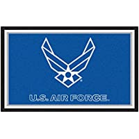 Fanmats Military Air Force Nylon Face 4X6 Plush Rug