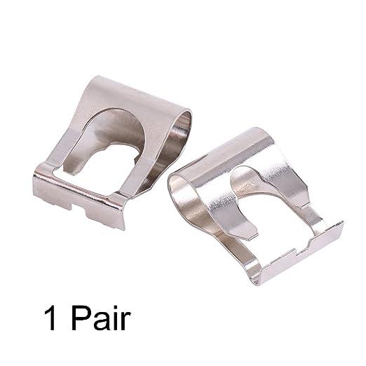 Acouto 1 par del parabrisas del limpiaparabrisas del motor varillas Varillas Arms Link Repair Clip Kit: Amazon.es: Coche y moto