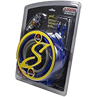 Stinger SS1200XS 4GA Copper 1200W Complete Wiring Kit