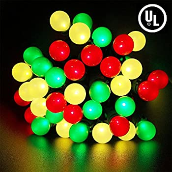 christmas lights 70 led string lights green wire outdoorindoor lights for fairy