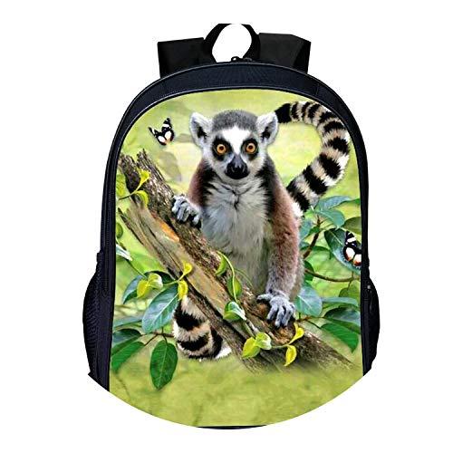 Printing Animal 3D Goddess Kids School Bag,16IB6085,16 Inches