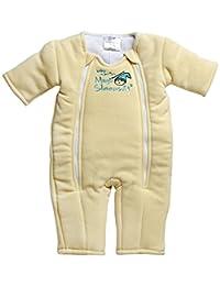 Baby Merlin's Magic Sleepsuit Microfleece - Yellow - 3-6 months