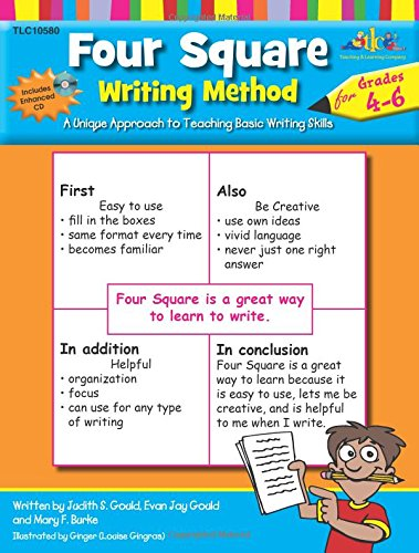 Four Square Writing Method Grades 4-6 w/ Enhanced CD: Judy Gould ...