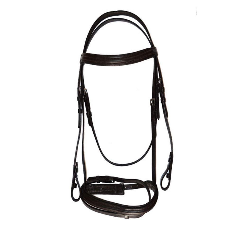 PAHRU cowhide durable material Leather Bridle Adjustable size competitions