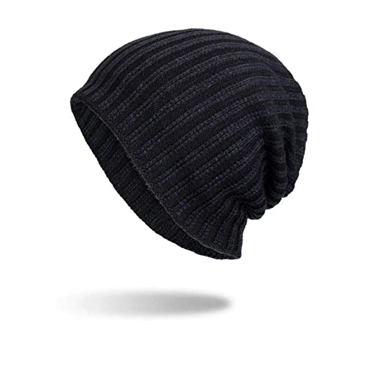 02f11158057 iYBUIA Women Men Warm Baggy Weave Crochet Winter Wool Knit Ski Beanie Skull  Caps Hat(