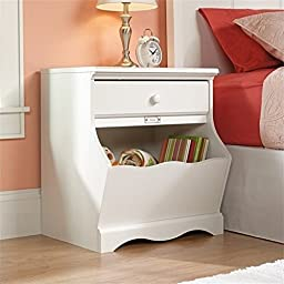 Pemberly Row Nightstand in Soft White