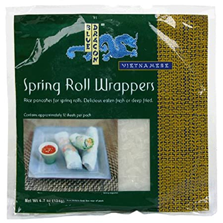 Blue Dragon Spring Roll Wrapper, 4.7 oz