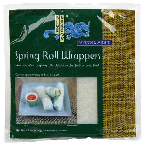 Blue Dragon Spring Roll Wrapper, 4.7 oz