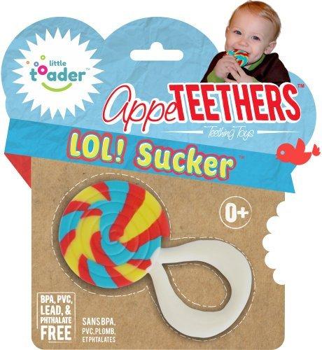 新作人気モデル Little Toader Sucker Teething Teething Toys, Lol Sucker Toys, [並行輸入品] B01K1UMRKO, 書画肆しみづ:0f69e55e --- clubavenue.eu