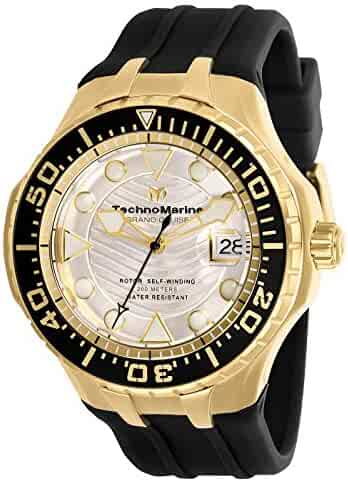beec42a79 Technomarine Grand Cruise Automatic White Dial Men's Watch TM-118089