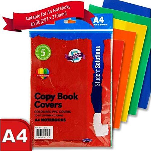 Premier cancelleria H2713958A4Student Solutions PVC resistente copia copertina (confezione da 5) Premier Stationery