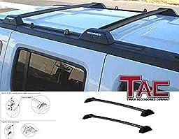 TAC 2006-2010 HUMMER H3 Roof Rack Cross Bars BLACK