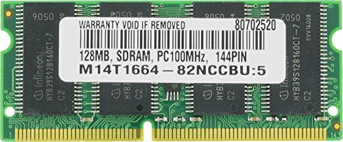 (128MB SDRAM PC100 3.3V CL2 LOW DENSITY 144 PIN SO DIMM MEMORY RAM)