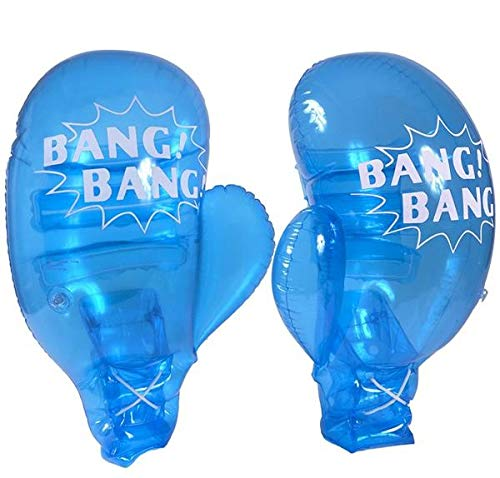 Inflatable Punching Gloves (Rhode Island Novelty 21 Inch Inflatable Boxing Gloves for Kids to Adult)