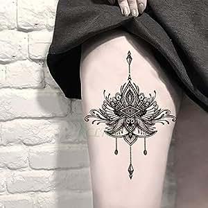 tzxdbh 3Pcs-Etiqueta engomada del Tatuaje a Prueba de Agua ...