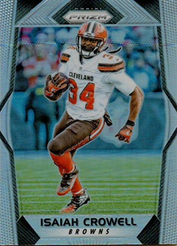 Football NFL 2017 Prizm Prizm #99 Isaiah Crowell Browns by
