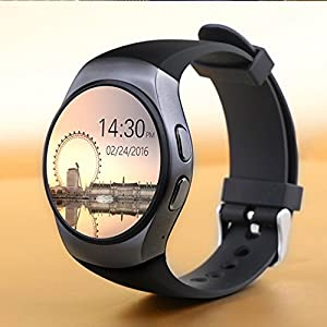 smartwatch compatible with iphone bluetooth smart phone kw18 sim and tf 2572