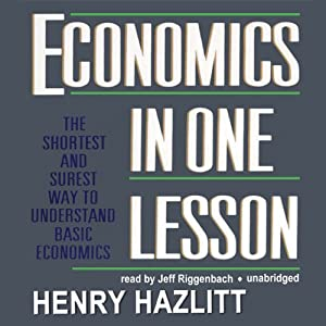 Economics in One Lesson Hörbuch