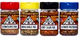 Paleo - Whole 30 - All Purpose Spices by PALEO LIVING PRIMAL BLENDS Collection {4-Combo Pack Jars Seasonings Set} can be used for Cooking, Grilling & with Cookbooks (All-Purpose Seasoning Blends)