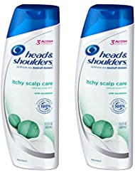 Head & Shoulders Itchy Scalp Care with Eucalyptus Anti-Dandruff Shampoo 13.5 Fl Oz (Pack of 2)