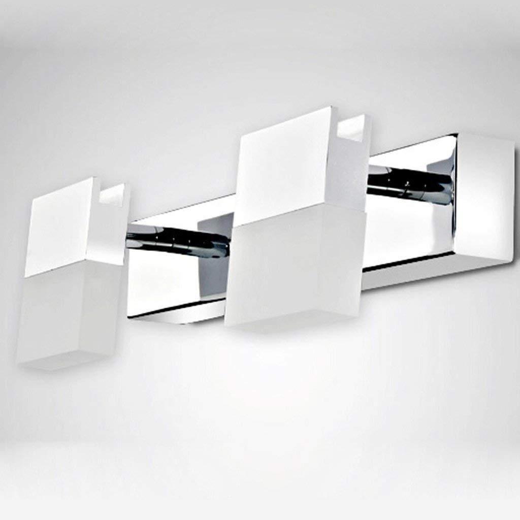 壁取り付け用燭台照明 White-6w28cm バスルーム照明ミラーミラーキャビネットランプLEDプロジェクター、バスルーム防水モダンなウォールランプライトバスルームは、光の光の中で White-15w88cm)、ライトを構成します。 B07Q7W1SYF (Color : Warm White-15w88cm) B07Q7W1SYF White-6w28cm White-6w28cm, 匠の工芸館:0d959944 --- m2cweb.com