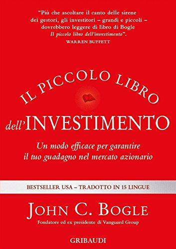 Copertina Libro Il piccolo libro dell'investimento