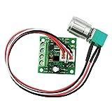 uniquegoods Low Voltage 1.8v 3v 5v 6v 7.2v 12v 2A 30W DC Motor Speed Controller (PWM) 1803BK Adjustable Driver Switch