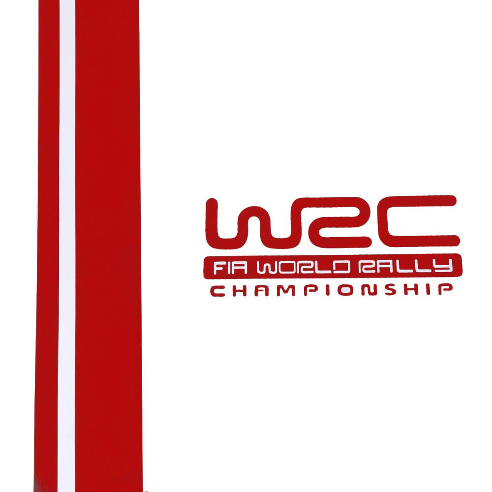 Cubierta de la Capucha WRC Personalidad Flor de Vinilo Carreras Deportivas Calcoman/ía Cabeza para Ford Focus VW Cruze Renault Festnight Etiqueta Engomada del Coche