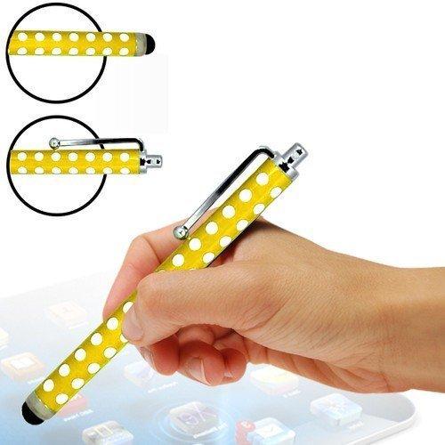 N4U Online - Polka Dot Apple Iphone 5 High Sensitive Stylus Pen - Jaune
