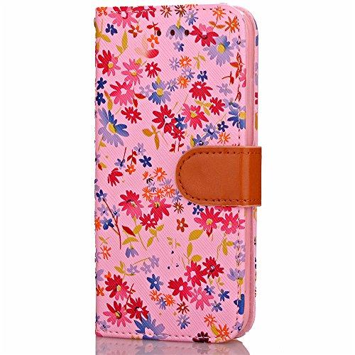 Funda Libro para iPhone 8,Manyip Suave PU Leather Cuero Con Flip Cover, Cierre Magnético, Función de Soporte,Billetera Case con Tapa para Tarjetas, Funda iPhone 8 G