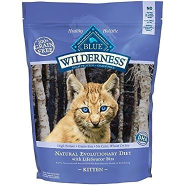 BLUE Wilderness Kitten Grain-Free Chicken Dry Cat Food 5-lb