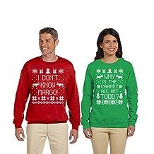 SignatureTshirts Men And Women Couples Christmas Sweater Todd And Margo Sweatshirt