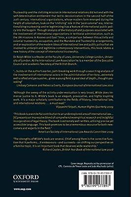 International Territorial Administration: How Trusteeship ...