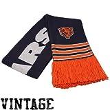 NFL Mitchell & Ness Chicago Bears Navy Blue-Orange Vintage NFL Scarf