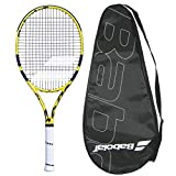 Babolat 2019 Aero 26 Junior Tennis Racquet - Strung with Cover