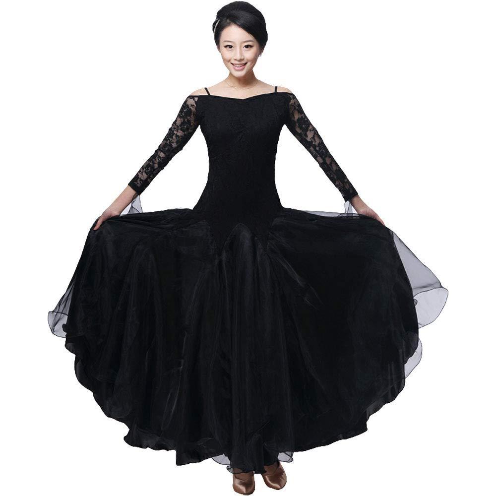 Downton Abbey Inspired Dresses BellyQueen Women Modern Waltz Tango Dancing Clothes Ballroom Dance Skirts $49.99 AT vintagedancer.com