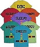 Costume Halloween Family Dwarf Doc Bashful Sleepy Grumpy Happy Sneezy Dopey Matching Customized Handmade T-shirt Hoodie/Sweater / Long Sleeve/Tank Top/Premium T-shirt