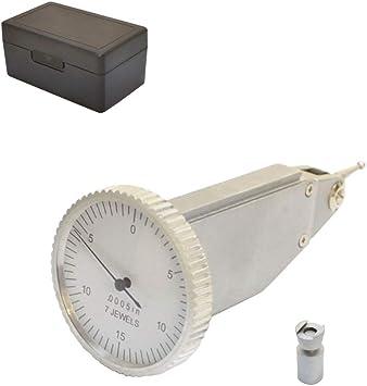 ".030/"" Vertical Dial Test Indicator Jewel .0005 Graduation Dovetail"