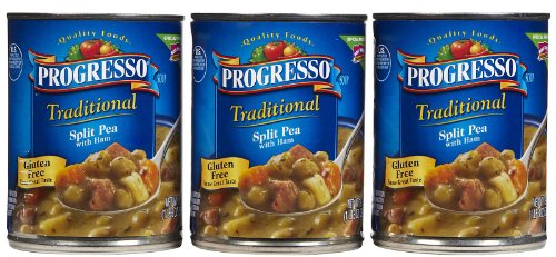 Progresso Split Pea & Ham Soup, 19 oz, 3 pk